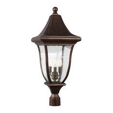 Feiss 3-Light Outdoor Post Lantern