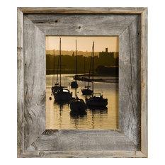 "Barnwood Picture Frames, Medium Width 2.75"" Lighthouse Series, 5""x7"""