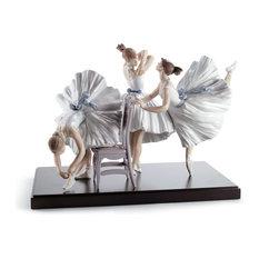 Lladro Backstage Ballet Figurine