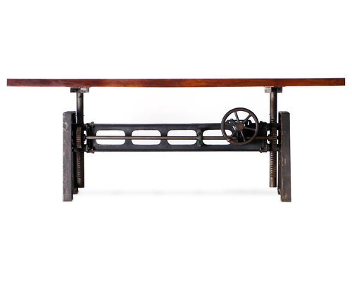 Industrial Look Dining Tables Industrial Style Dining Table