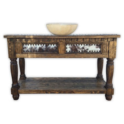 Cool Southwestern Bathroom Vanities And Sink Consoles by Rancho Collection