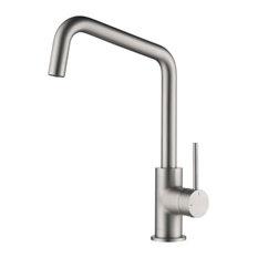 Macon Single Lever Kitchen Bar Faucet, Brush Nickel