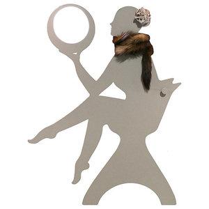 Chanel The Dance Teacher Wall Lamp, Beige Diamond