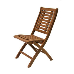 Contemporary Outdoor Folding Chairs by Outdoor Interiors