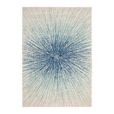 Catalonia Area Rug, Royal/Ivory, 10'x14'