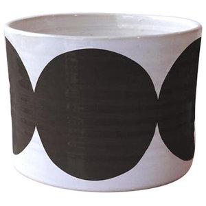 Small Spots Bowl, Black