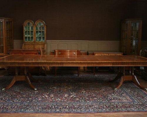 Foot Dining Room Table henredon aston court 12 foot dining room table (aston ct 3)