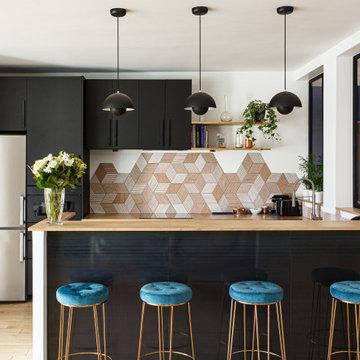 Un appartement familial unique et coloré - Projet Jasmin