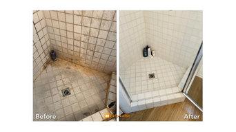 deep shower clean