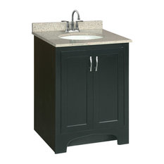 Design House Ventura 24 X21 Vanity 2 Door Ready To Emble Espresso Finish