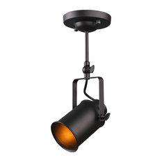 1-Bulb Retro Style Industrial Spot Light Ceiling Lamp