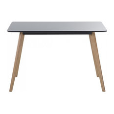 Fly Kitchen Dining Table, Black