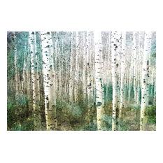 """Aspen Green"" Fine Art Canvas Print, 60""x40"""