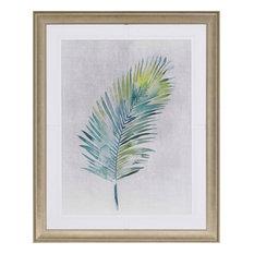 "Watercolor Palms I Artwork, 42""x52"""