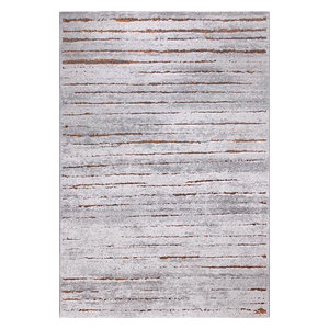 Woodland WH-2870-952 Rug, Grey and Brown, 80x150 cm