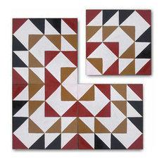 Encaustic cement tile patterns
