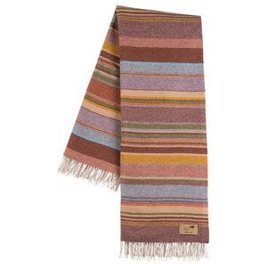 Milano Striped Merino Wool Throw, Multi