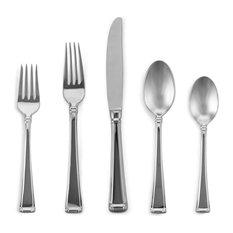 gorham gorham column 5piece place setting flatware and silverware sets