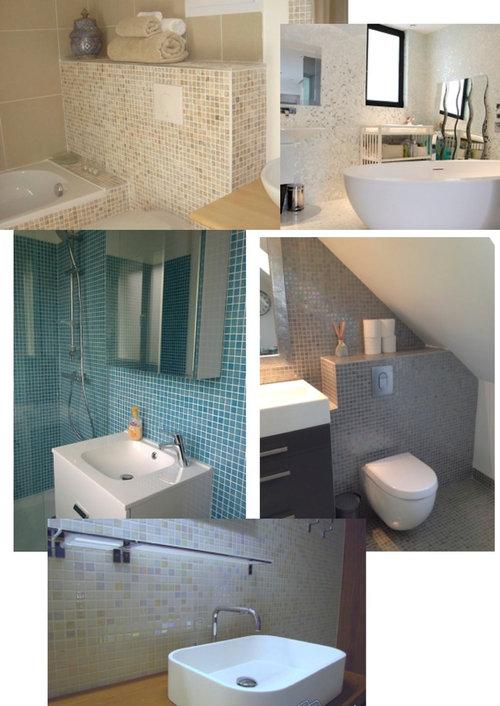une mosaïque ou autres pour une (Très très ) petite salle d\'eau??