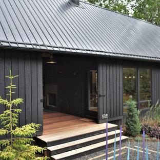 Esempio della facciata di una casa moderna