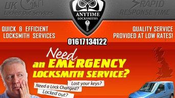 Locksmith Services in Altrincham   Anytime Locksmiths