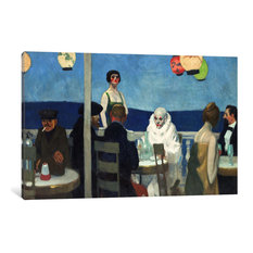 """Soir Bleu"" Wrapped Canvas Art Print, 60x40x1.5"