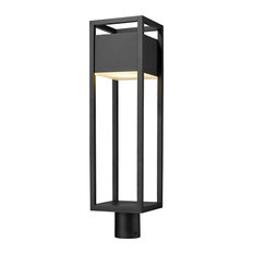 Barwick 1 Light Post Light or Accessories in Black