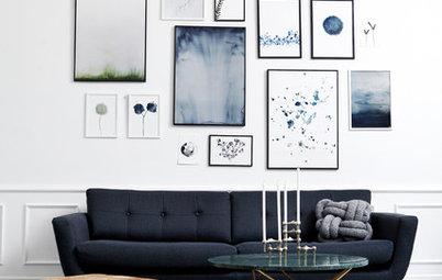 Kunstnerens bedste tips: Sådan laver du en trendy billedvæg
