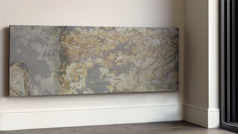 CLIFF - Barren Stone finish. Natural stone radiators - electric or hydronic