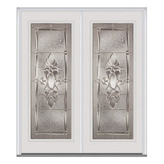 "Heirloom Master Full Lite Fiberglass Double Door 74""x81.75"" LH In-Swing"
