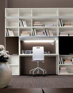 Emejing Libreria Con Scrivania Incorporata Ideas - Home Design ...