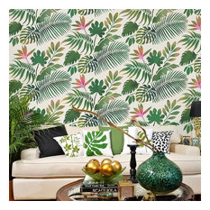 50 Most Popular Tropical Wall Stencils for 2019 | Houzz