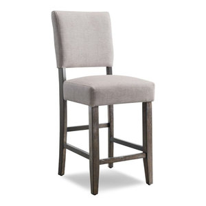 """Leick Favorite Finds 24"""" Counter Stool in Heather Gray (Set of 2)"""