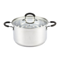 Cook N Home Stainless Steel Stockpot With Lid, 5 Quart