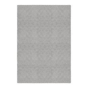 Solitaire Indoor/Outdoor Reversible Rug, Grey and Ivory, 120x180 cm