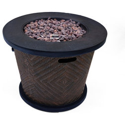 Tropical Fire Pits by GDFStudio