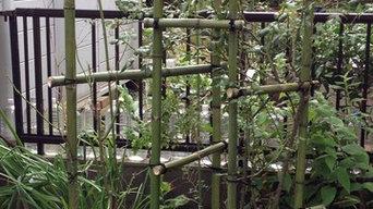伝統と創作樹木の支柱