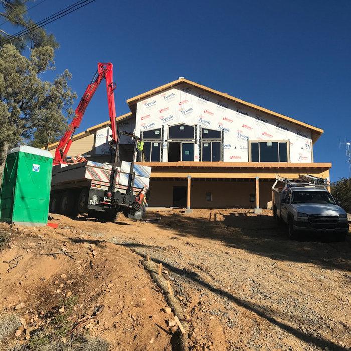 Mountain Laurel Home Under Construction