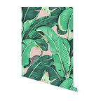 "Banana Leaf Removable Wallpaper, Beached, 24""x120"""