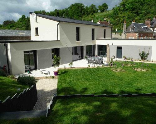Am nagement d 39 un jardin d 39 une habitation contemporaine for Habitations home plans