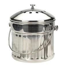 Extra Large Compost Container, Stainless Steel