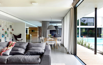 Houzz Tour: A Concrete House With an Easy Flow