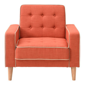 Vista Coral Convertible Chair Bed Midcentury Sleeper