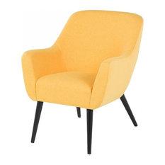 Loken Armchair, Yellow