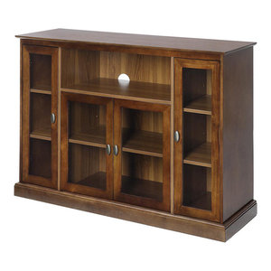 Convenience Concepts Tahoe Highboy Tv Stand In Espresso