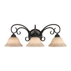 RBZ-TEA Homestead Collection 3 Light Bathroom Light Fixture