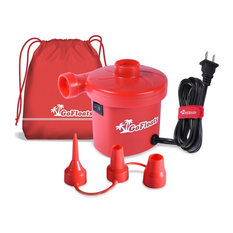 GoFloats Rapid Inflation Electric Air Pump (AC 110/120V) with Tote Bag and Raft