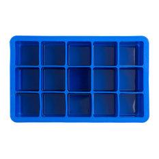 Epicurean Barware Classic Cube Ice Tray, Blue