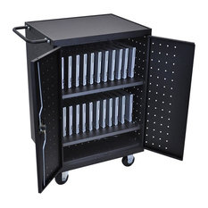 Luxor Furniture - 24 Unit Laptop and Tablet Charging Station - Office Carts and Stands