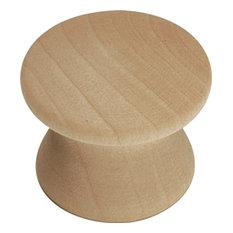 Natural Woodcraft Unfinished Wood Cabinet Knob